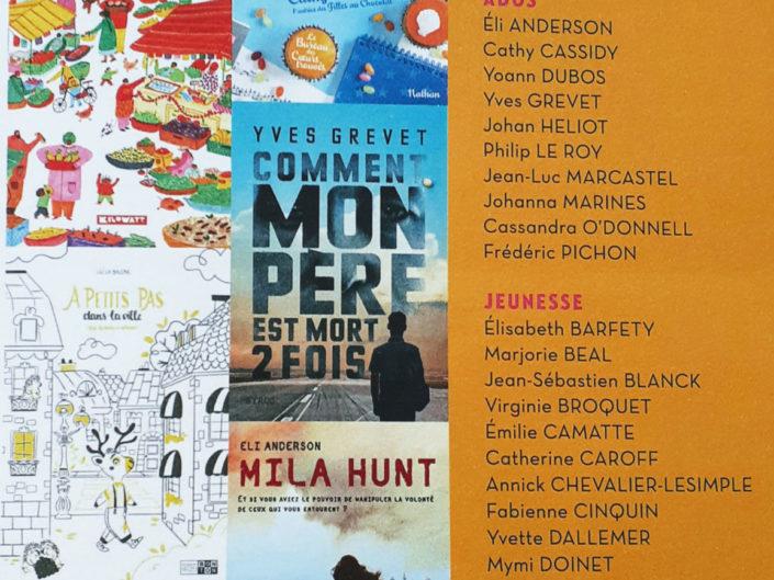 Article salon du livre Mouans Sartoux