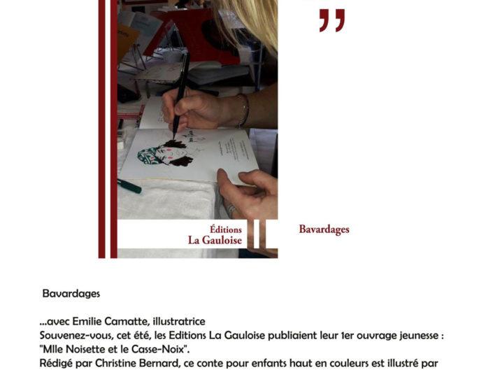 Bavardage Avec La Gauloise