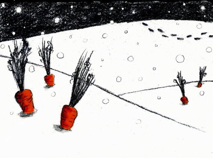 dessin de presse carotte
