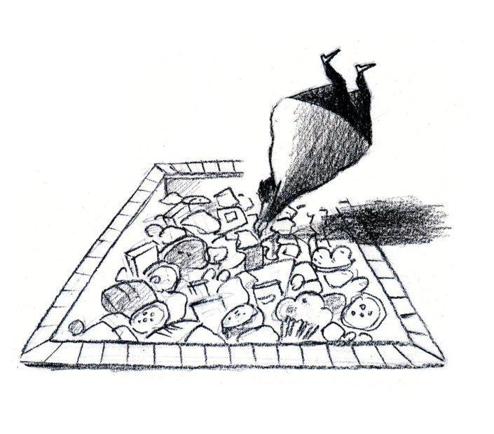 dessin de presse piscine