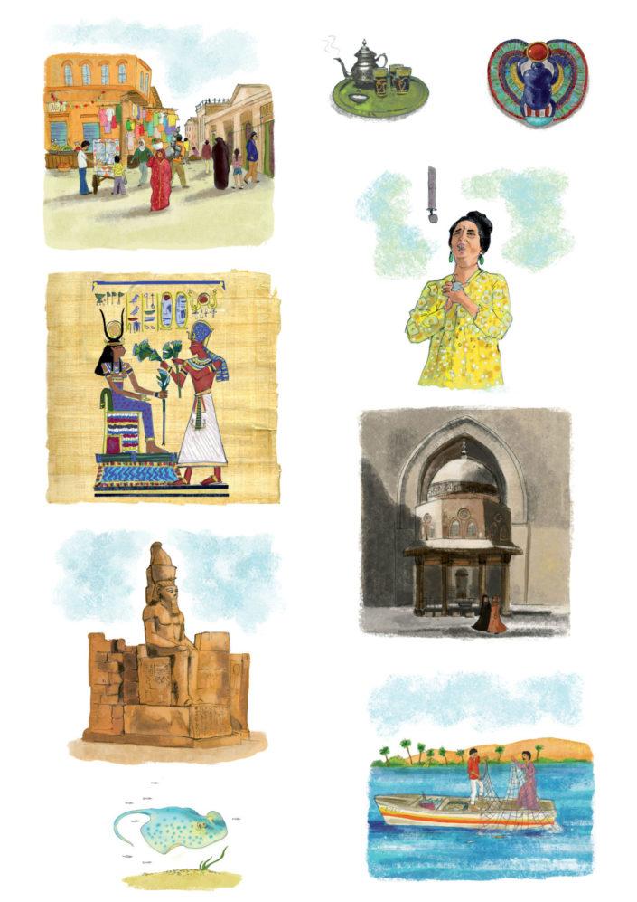 Egypte raconté aux enfants